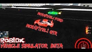 Efsane Yarış Modifiyeli GTR VS Modifiyeli Ford GTR #roblox #eğlence