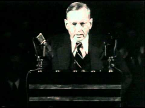 "Alf Landon Opposes Social Security as a ""Fraud"""