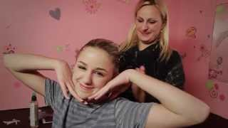 Chloe & Christi Lukasiak - How To Do A French Twist | DIY TUTORIAL