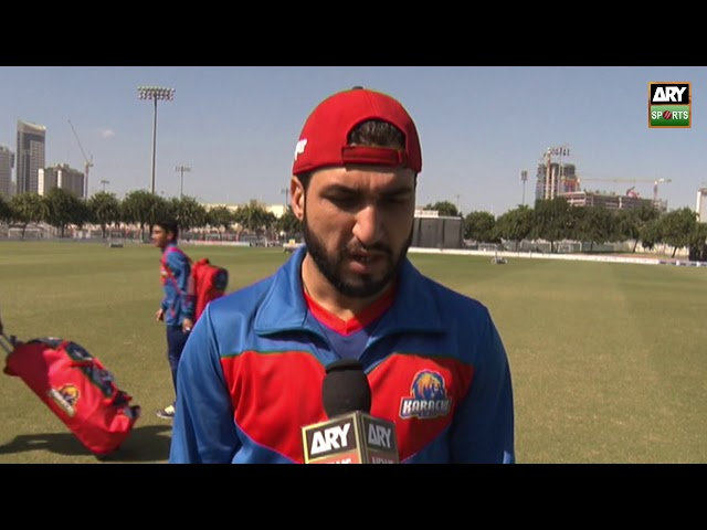 'T20 is tougher than ODIs, each ball has to be bowled thoughtfully' - Usman Khan Shinwari