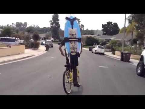 Koraloc Carry Your Surfboard Skimboard Skateboard While Riding