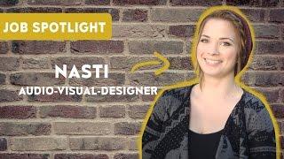Audio-Visual-Media-Designer - Nastassja Strobel im Job-Spotlight