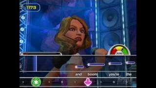 Karaoke Revolution Party PlayStation 2 Gameplay -