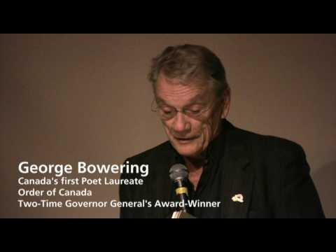 George Bowering - Fred Wah and Friends Poetry Reading; Vancouver, BC Canada (part 7 of 7)