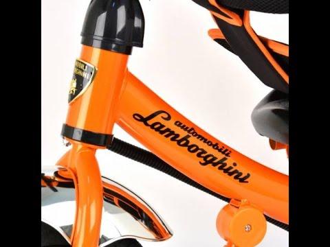Трехколесный велосипед Lamborghini AIR видеообзор часть 2
