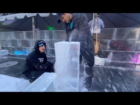 مكونة من 60.000 مكعب ثلج .. إنشاء أكبر متاهة جليدية في العالم  - نشر قبل 4 ساعة