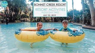 Bonnet Creek Resort Activities- Vlog Day 2