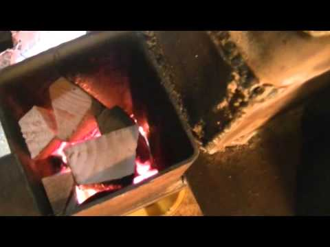 The Omega Stove Making Heat!