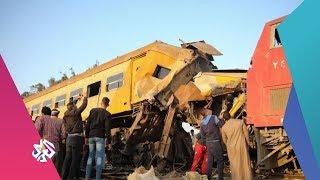 بتوقيت مصر | ارتفاع حصيلة حادث قطار البدرشين إلى 58 مصابا