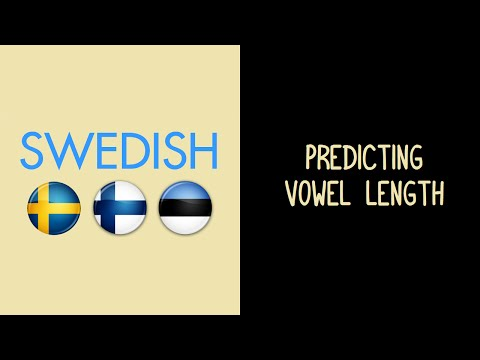 Predicting Swedish Vowel Length