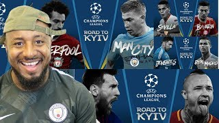2017/18 UEFA Champions League Quarter Finals Draw Reaction