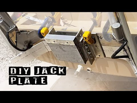 DIY Jack Plate For Small Outboard Motors