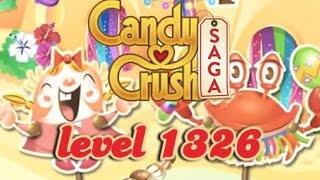 Candy Crush Saga Level 1326 - New: Magic Mixer