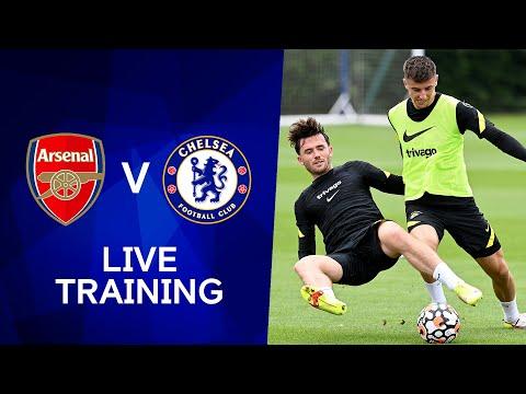 Chelsea Live Training at Stamford Bridge   Arsenal v Chelsea   Premier League