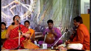 Amma Anandadayini- Aruna Sairam singing Balamuralikrishna