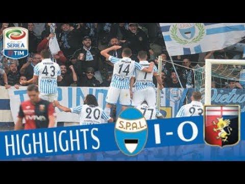 Spal - Genoa 1 - 0 - Highlights - Giornata 11 - Serie A TIM 2017/18