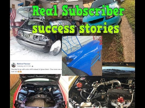 Subscriber Spray paint success stories. (You could be the next success story)