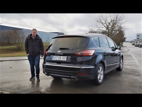 2019 Ford S-Max Vignale - Review, Fahrbericht, Test