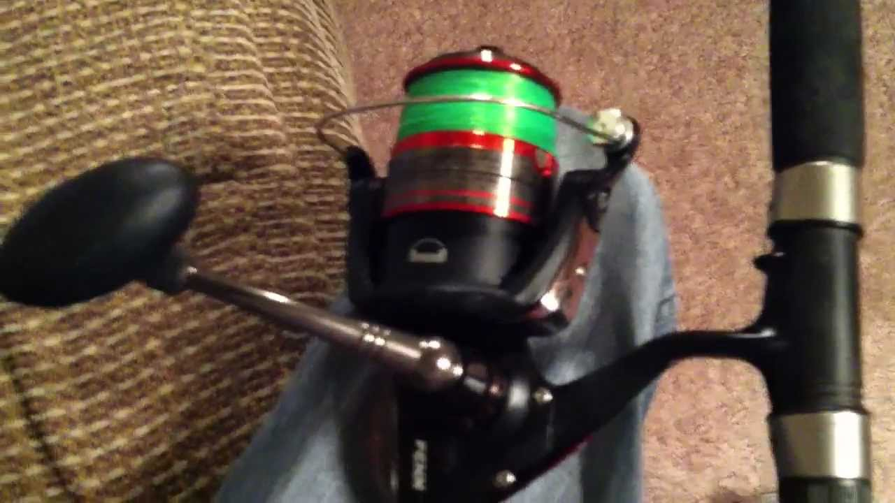 Penn Fierce 5000 Spinning Reel Amp Rod Combo Product Review