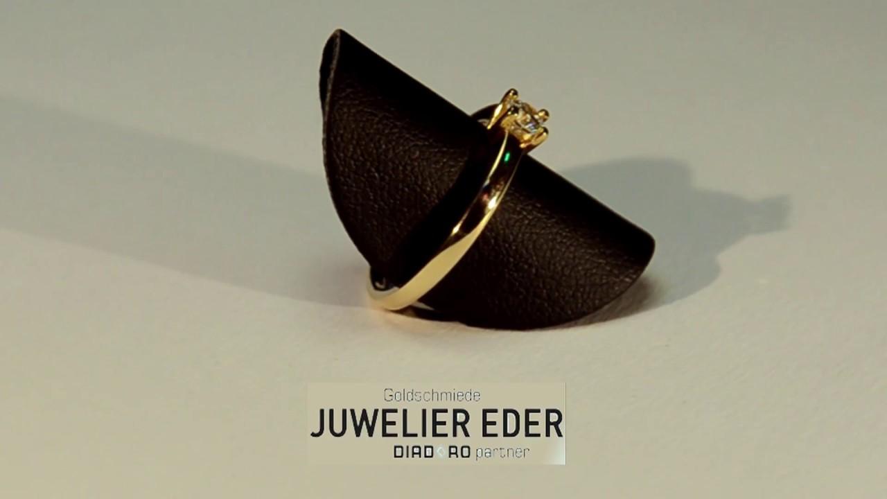 Verlobungsring Juwelier Goldschmied Eder Feldbach Youtube