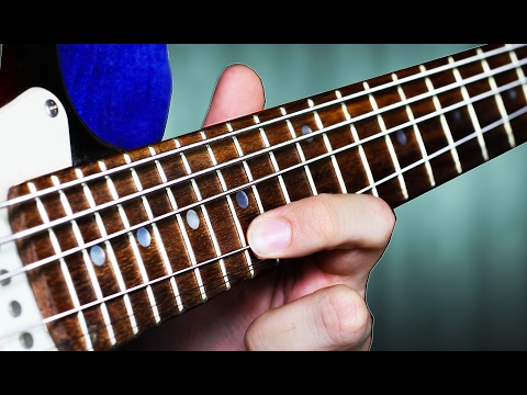 Download Youtube: BASS STRINGS on GUITAR