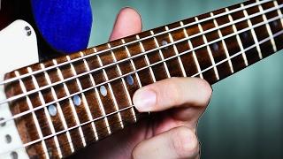 bass strings on guitar