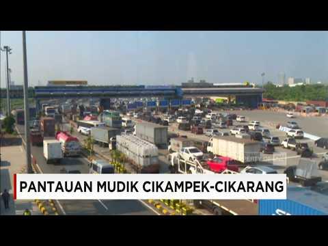 H-8 Lebaran, Jumlah Kendaraan di Jalur Mudik 2017 Ruas Tol Cikampek Dari Jakarta Meningkat