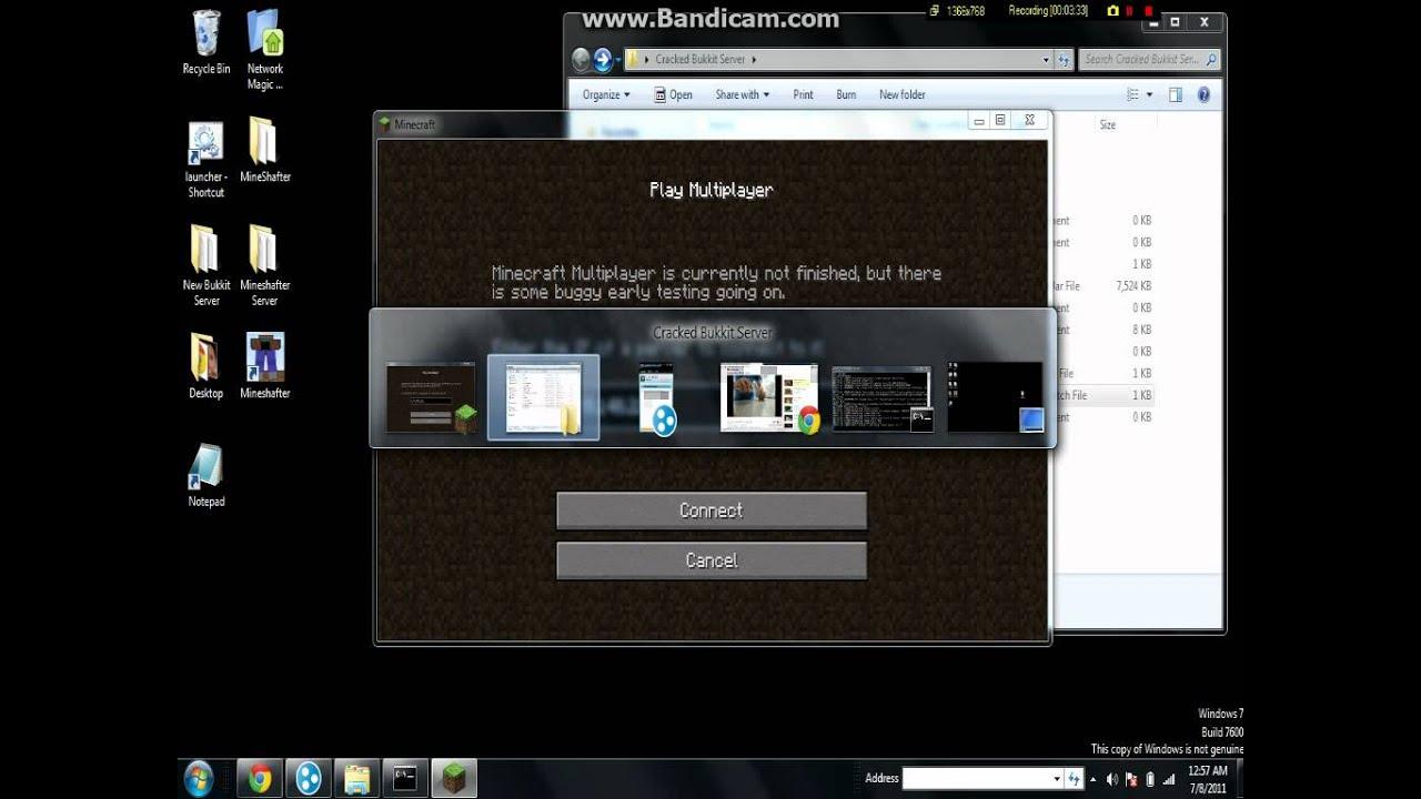 minecraft server client 1.7.2