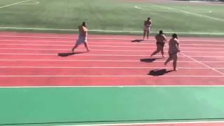Sumo Wrestlers Running 50 Meter Race