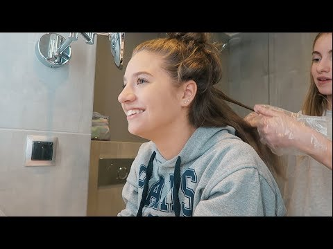 DYEING Our Hair *GONE WRONG* | Lauren Orlando