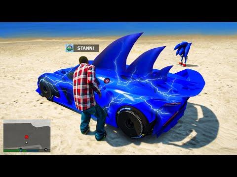 ich KLAUE DAS BLITZ AUTO von SONIC! 999.999.999$ GTA 5 RP