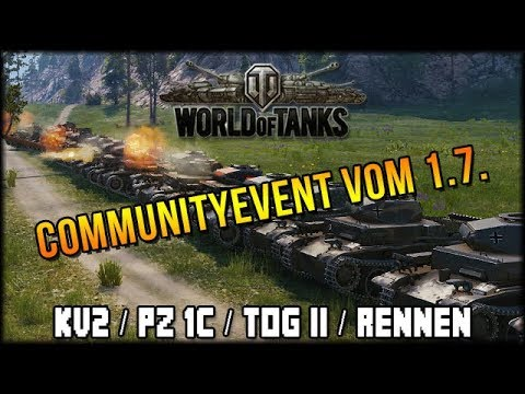 Event:🐄 34. Geburtstag! :D - 30 KV-2 / 30 Pz1C / 30 TOG II + Rennen 🐄 thumbnail