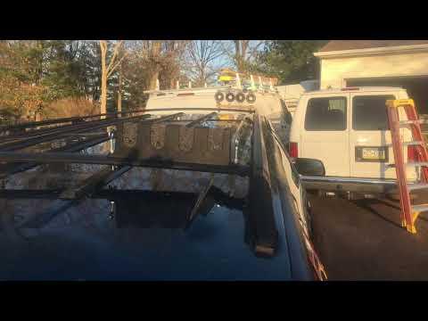 DIY Roof Rack Rod Holder