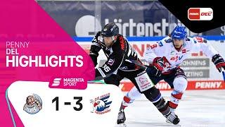 Straubing Tigers - Adler Mannheim | Viertelfinale, Spiel 2, 2020/2021 | MAGENTA SPORT