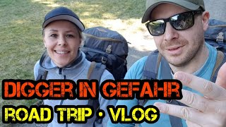 Spezial - DIGGER IN GEFAHR - Urlaubs Roadtrip VLOG Extended 2019 - Harzer Wald - Boardgame Digger