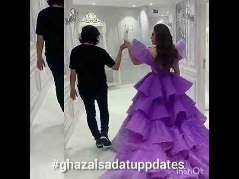 زیبا ترین لباس های غزل سادات Ghazal Sadat Dresses
