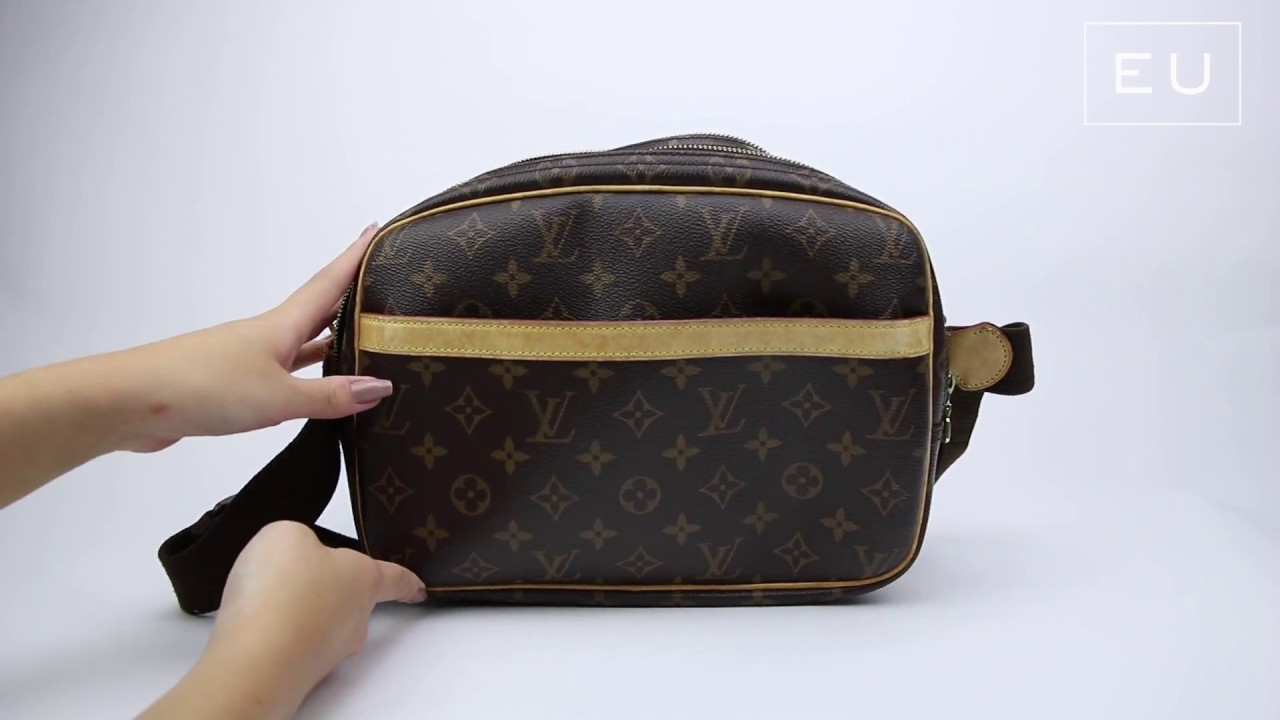 235e02fdb5a Bolsa Louis Vuitton Reporter Monograma PM