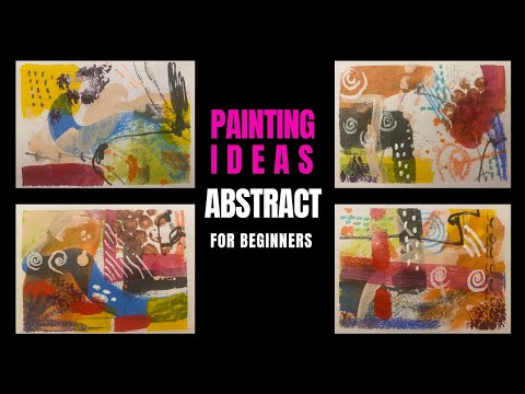 Abstract Painting Technique | Painting Ideas | 53