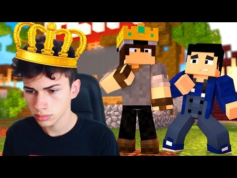 Minecraft: EM BUSCA DO REI!! - SKYWARS