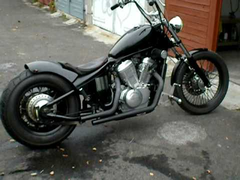 honda vt 600 shadow chopper youtube. Black Bedroom Furniture Sets. Home Design Ideas
