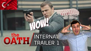Italian Reaction To  🇹🇷  The Oath (Söz) | International Trailer 1