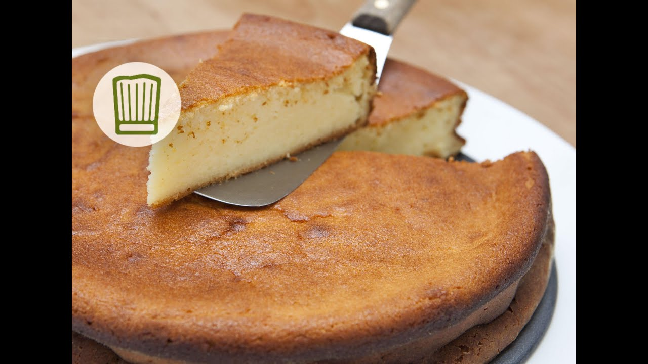 Rezept: Käsekuchen backen #chefkoch - YouTube