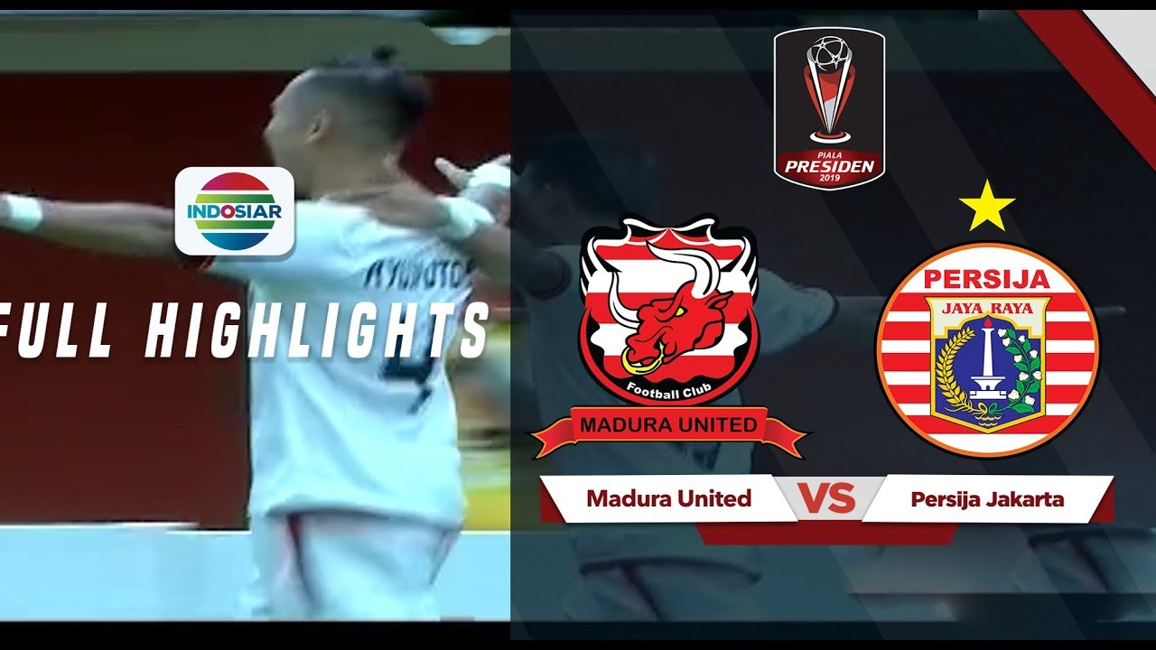 Persija Jakarta Vs Madura United