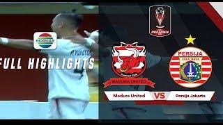 Madura United 2 - 2 Persija Jakarta