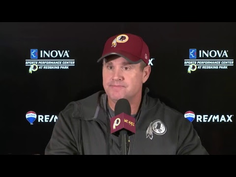 WATCH LIVE: Head coach Jay Gruden speaks to the media following practice Wednesday.