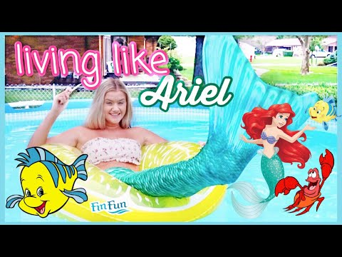 A DAY IN THE LIFE AS ARIEL | Turning Into A Mermaid For The Day 2019
