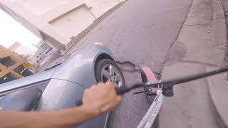 GoPro BMX: HIT BY A CAR MOBBING ATLANTA STREET SPOTS