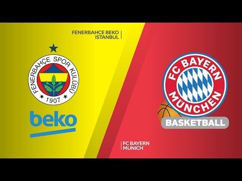 Fenerbahce Beko Istanbul - FC Bayern Munich Highlights |Turkish Airlines EuroLea