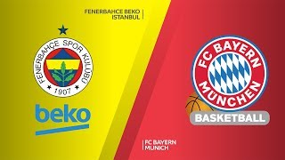Fenerbahce Beko Istanbul - FC Bayern Munich Highlights |Turkish Airlines EuroLeague, RS Round 7