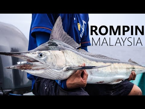 CHEAP GEAR vs MARLIN | ROMPIN FISHING MALAYSIA